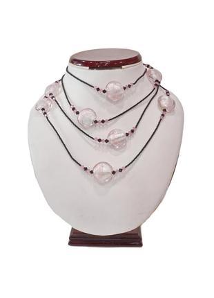 Женское ожерелье лагуна . код п041