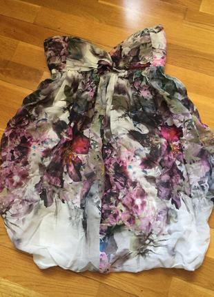 Легкое короткое платье zara