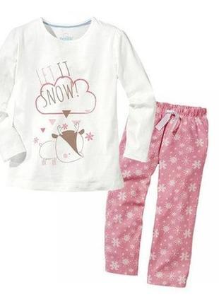 Пижама для девочки lupilu,германия.