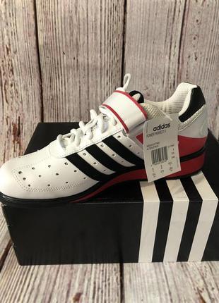 Оригинал штангетки обувь для тяжелой атлетики adidas g17563