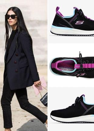Эффектные кроссовки американского бренда skechers tr ultra с водоотталкивающей технологией