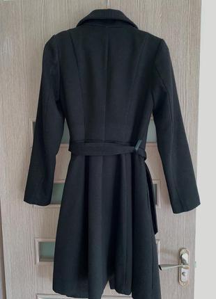 """Чёрное пальто """"reserved""""2 фото"""