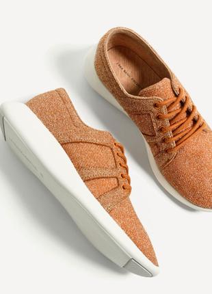 Zara сникерсы легкие кроссовки