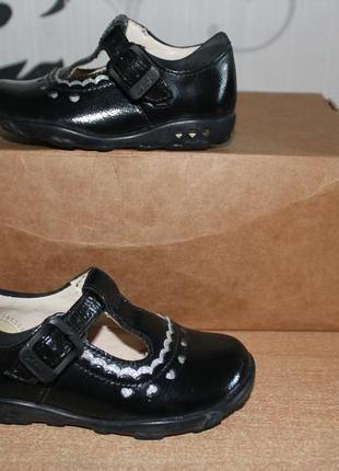 Туфли кожаные с мигалками clark's оригинал 20м размер
