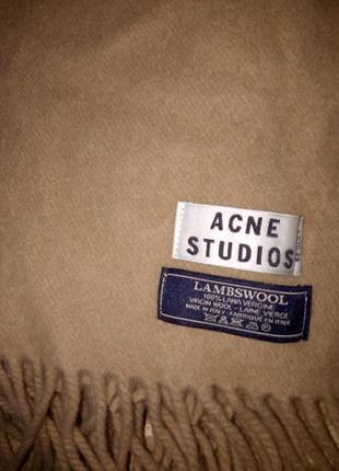 Шикарный шарф палантин acne studios оригинал burberry