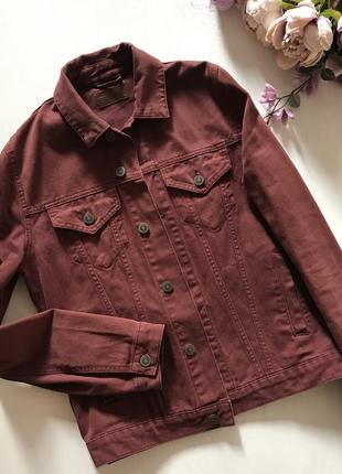 Джинсовая куртка джинсовка asos xs s