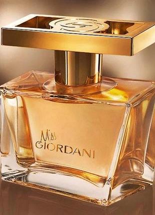 Женская парфюмерная вода miss giordani (мисс джордани) oriflame