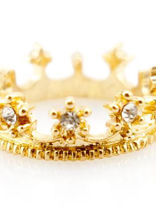 Кольцо корона - модное кольцо по супер цене!