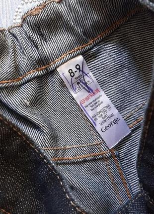 🐬суперские джинсы с выбеливанием в состоянии новых3 фото