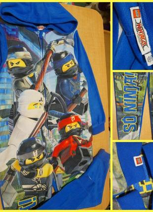 Lego ninjago флисовый ромпер - человечек 8-9 лет флісовий чоловічок пижама піжама