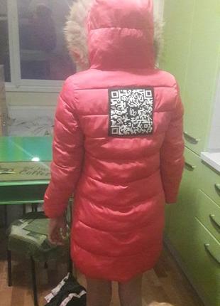 Зимняя куртка на девочку2 фото