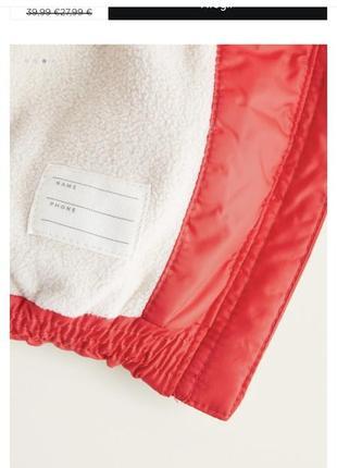 Тёплая куртка демисезонная на флисе с капюшоном3 фото