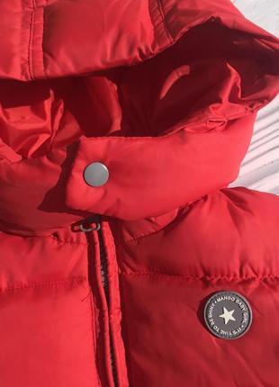 Тёплая куртка демисезонная на флисе с капюшоном5 фото