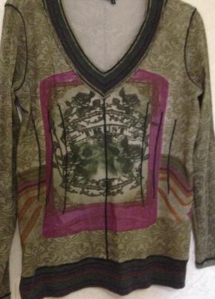 Блуза трикотажная marc aurel
