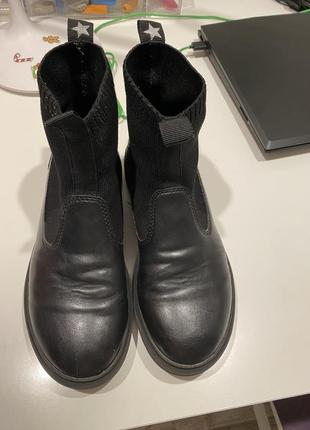 Деми ботинки zara p 36, стелька 22,34 фото