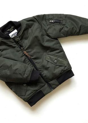 Стильная качественная куртка цвета хаки next1 фото