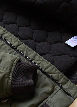 Стильная качественная куртка цвета хаки next2 фото