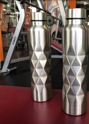 Бутылка 💣спортивная 1000мл нержавеющая сталь