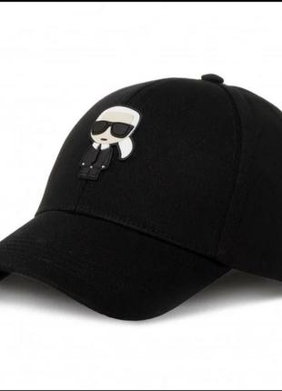 Оригинальная бейсболка кепка karl lagerfeld