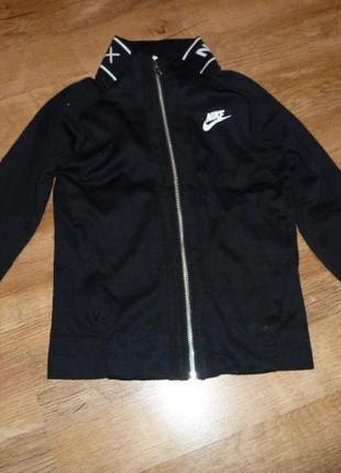 Nike airmax спортивная куртка, ветровка, толстовка на 6-8 лет