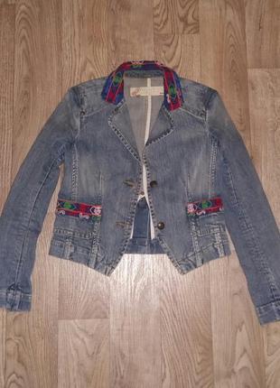 Модная джинсовая курточка eight sin