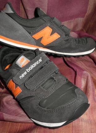 Удобные кроссовки снейкерсы new balance 420 на каждый день мальчику размер eur 32