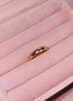 Обручальное кольцо медицинское золото