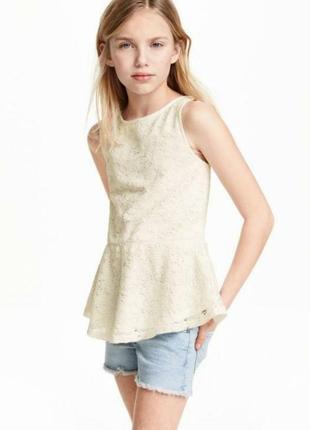 Блузка без рукавів h&m