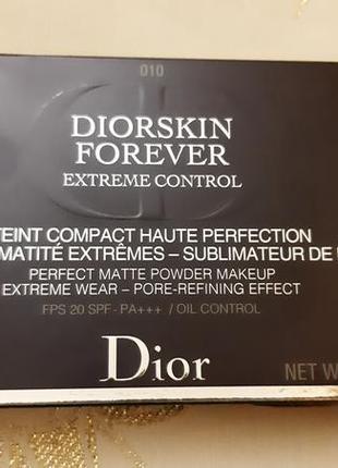 Компактная пудра dior