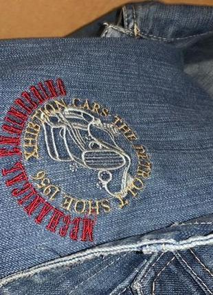 Стильный брендовый джинсовый костюм для мальчика джинсовка и джинсовые штаны8 фото