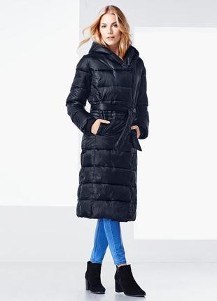 Шикарное стеганное пальто, еврозима  от тсм tchibo (чибо), германия, укр 48-50