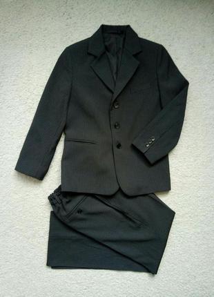 Костюм брючный двойка школьная форма пиджак брюки