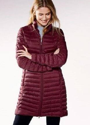 Шикарное женское стеганное пальто от blue motion, германия, размер s-m
