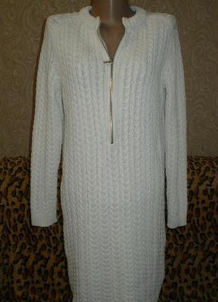 Вязаное платье,  zaraknit (заракнит) туника, м-л. смотрим замеры.