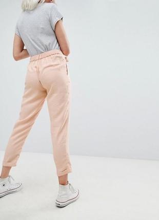 Pull&bear пудровые штаны брюки  26 размер
