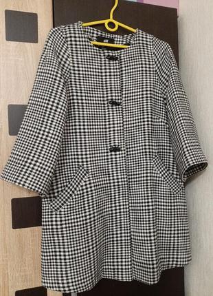 Пальто h&m oversize для вагітних