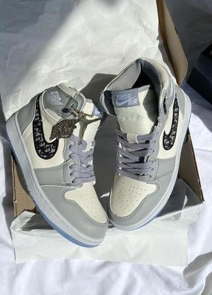 Nike air jordan retro 1 женские кроссовки наложенный платёж купить