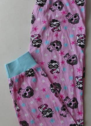 Пижама пижамные штаны primark англия 7-8 лет 128 см