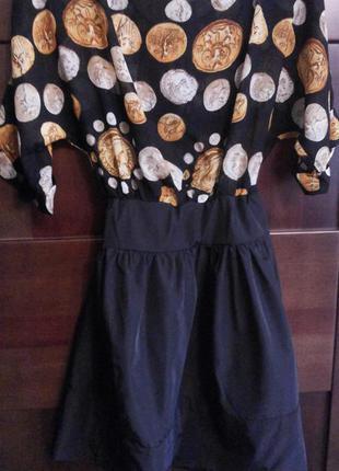 Красивое платье --сарафан р.s