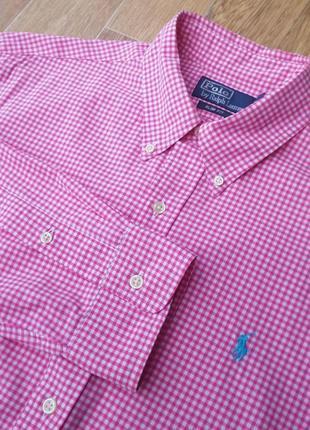 Polo by ralph lauren мужская рубашка l-xl