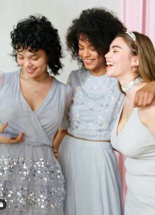 Платье h&m с паетками