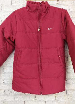 Оригинальная тёплая куртка nike