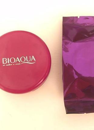 Кушон+сменный блок bioaqua air cushion cc cream