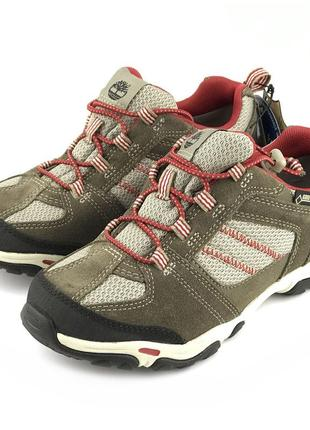 Кожаные мембранные ботинки timberland