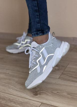 👟 кроссовки женские adidas ozweego    / наложенный платёж bs👟