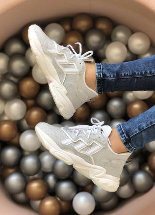 👟 кроссовки женские adidas ozweego    / наложенный платёж bs👟4 фото