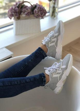 👟 кроссовки женские adidas ozweego    / наложенный платёж bs👟5 фото