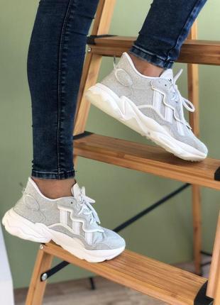 👟 кроссовки женские adidas ozweego    / наложенный платёж bs👟9 фото