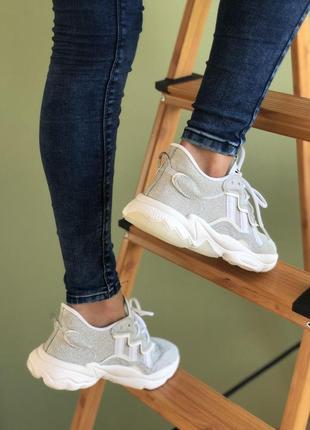 👟 кроссовки женские adidas ozweego    / наложенный платёж bs👟8 фото
