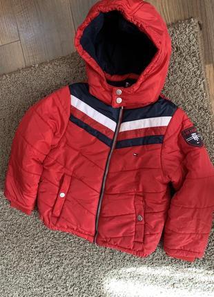 Зимняя пуховая куртка tommy hilfiger (оригинал) 8 років